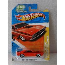 71 Dodge Challenger Lanterna Verde - Hot Wheels 2011 1:64