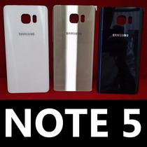 Tapa Trasera Samsung Galaxy Note 5 Azul Con Envio Gratis