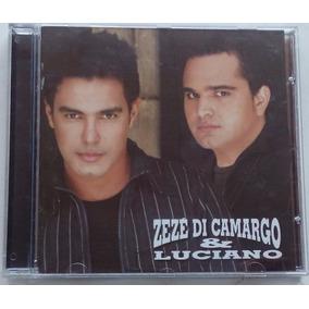 Cd Zezé Di Camargo E Luciano - A Minha Historia