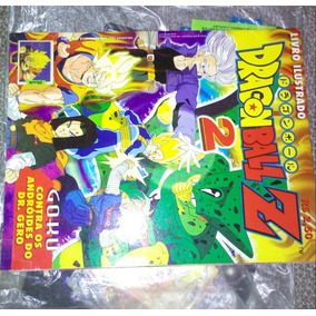 Livro Ilustrado Dragon Ball Z Saga Cell