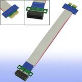 Cabo Adaptador Extensor Flexível Riser Card Pci-express 1x