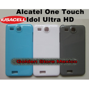 Alcatel One Touch Idol Ultra 6033 Funda Silicon Liso