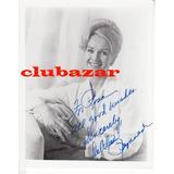 Foto Original Autografiada Por Debbie Reynolds Dedicada