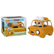 Hora De Aventura Carro Do Jake Com Finn Pop Vinil Da Funko