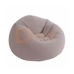 Sillon Puff Inflable Comodo Confortable- Gris