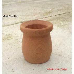Lote 40 Mates Vasito Madera Calden Algarrobo Virgen X Mayor