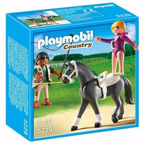 Playmobil 5229 - Exercícios De Salto Equestre