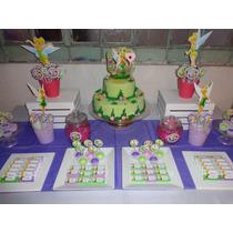 Candy Bar Tinkerbell Golosinas Para 20