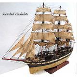 Modelismo Naval, Barcos A Escala, Veleros, Barcos De Madera