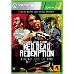 Red Dead Redemption Edição Jogo Do Ano Goty - Xbox 360