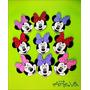 Caritas De Mickey Y Minnie En Goma Eva