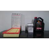 Kit De Filtros Aceite+nafta+aire + Motul 8100 Bora 1.8t 2.0