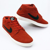Tênis Nike Cano Médio Suketo Mid Leather Original Promoçao