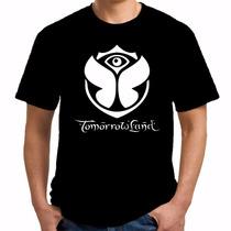 Camiseta Tomorrowland Masculina - 100% Algodão - Festival