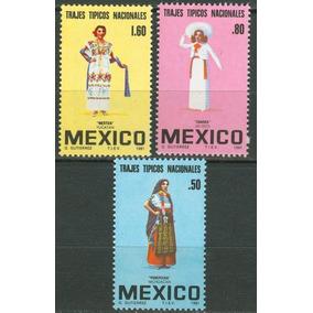 Sc 1231,1233 Año 1981 Trajes Tipicos Nacionales