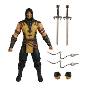 Mortal Kombat X: Scorpion - 16 Cm - Mezco - Lançamento!