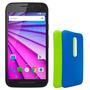 Motorola Moto G3 Xt1540 2gb 16gb 4g Lte + 32gb + Vidrio