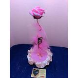 Centro De Mesa 15 Años Rosa De Porcelana Fria 25cm Oferton