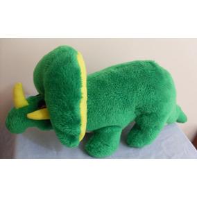 Boneco Pelúcia Dinossauro Triceratops 44 Cm Ler Anúncio 18