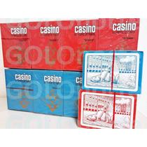 Pack X 12 Mazos Naipes Plastificados Poker Casino Descuentos