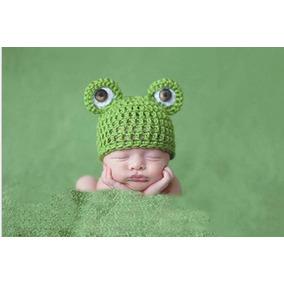 Toca Recém Nascido Linda Sapo Bebe Neném Frio Inverno