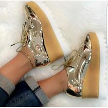 Zapatos Plataformas Oxford De Moda Mayor Y Detal