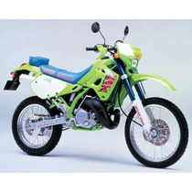Manual Kawasaki Kdx 250 91/95 Kdx 200 89/94