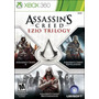 Assassins Creed Ezio Trilogy 3 Jogos Mídia Física Xbox 360