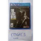 The Last Of Us Remasterizado Ps4 Juego Fisico