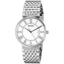 Relógio Mido Dorada White Dial Stainless Steel