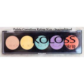 Koloss - Paleta De Corretivos Camuflagem 01 - Inacreditável