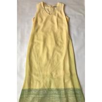 Vestido Amarillo Marca Karen Kein Talla 9/11 Excelente Condi