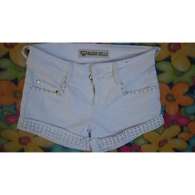 Shorts Yeans Mezclilla Niña Talla 12, Exclusivos