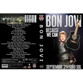 Bon Jovi Dvd Mexico Because We Can Tour 29 Sep 2013 Foro Sol