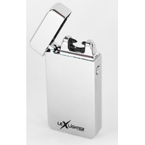 Lex Lighter Encendedor Electrónico Recargable Plasma Silver