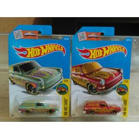 Hotwheels Vw Squareback Verde Y Roja Variantes
