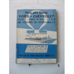 Livro: Peças Para Chassis (ford - Chevrolet)
