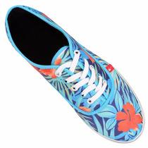Zapatillas Flores,palmeras Las Que Van - Envio Gratis !!