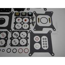 Kit Reparo Para Carburador Holley Quadrijet Mecânico 600 650