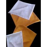 10 Capas Almofada Para Sublimação 35x35 + Enchimento