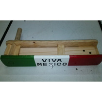 Matraca 54 Cms Juguete Madera Tipico Mexicano Porra Fans