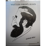 Imperdible Poster Original De Sigmund Freud