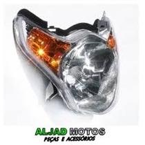 Bloco Óptico Farol Honda Titan 150 Mix Ks Es Ex 2010