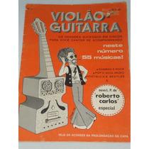 Violão Guitarra 55 Músicas Sambão & Rock. Lp Roberto Carlos