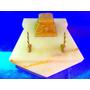 El Arcon Escribania Tintero En Marmol Y Bronce 27 Cm 5200
