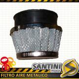 Filtro De Aire Metálico Cónico Motor 49 Cc Mini Cuatriciclo