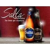 Cerveza Salta Rubia Y Negra De Litro - $ 50 -