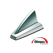 Antena Olimpus New Shark Original Funcional Ampli. Prata