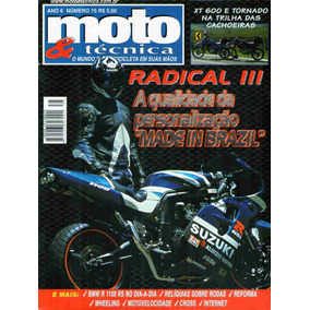 Moto & Técnica 75 * Xt 600 * Tornado * Bmw R 1150 Rs