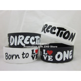2 Pulseras Silicona One Direction,regalo Perfecto